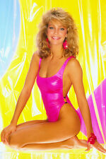 Heather Locklear Leggy Beautiful Pin Up Pose In Bikini Barefoot 24X36 Poster