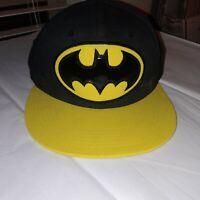 Batman Flat Bill Snap Back Hat