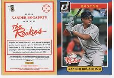 (20) 2014 Donruss The Rookies #8 Xander Bogaerts BOSTON RED SOX RC Lot