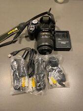 Nikon D D3100 14.2MP Digital SLR Camera - Black (Kit w/ AF-S G DX VR 18-55mm and