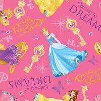 Disney Princess Gateway To Dreams 100% cotton Fabric by the yard