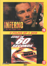 INFERNO + GONE IN 60 SECONDS - 2 FILMS - DVD - SEALED