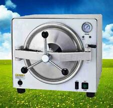 18L Dental Medical autoclave Steam Pressure Sterilizer sterilizition + Warranty