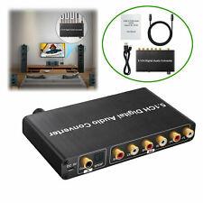 5.1CH 192kHz DAC Convertitore/decodificatore audio digitale Volume regolabile