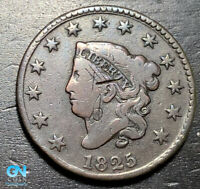 1825 Coronet Head Large Cent   --  MAKE US AN OFFER!  #K4667