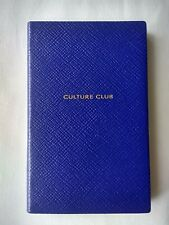 SMYTHSON PANAMA 'CULTURE CLUB' NOTEBOOK in Cobalt Blue RRP £45.00 BN