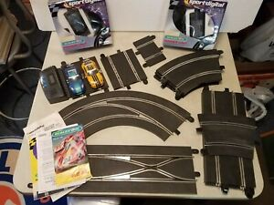 Digital Scalextric, Lot of Track, Lane Change, Straight, Curved, Cars, Terminal