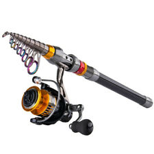 Goture Fishing Rod Reel Combo 1.8M-3.6M Telescopic Rod Spinning Reel Freshwater