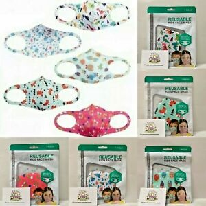 Children's Reusable Face Mask Kids Covering Girls Boys Protection Washable Mouth