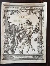 SUPPLEMENT à L'ILLUSTRATION du 23 décembre 1899 - NOEL 1899-1900. bon etat