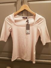 Mint Velvet Square Neck Top Size XS. New With Tags