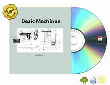 Basic Machines. Navy Training Course Book On CD