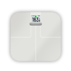 Garmin Index S2, Smart Scale with Wireless Connectivity Measure Body Fat White