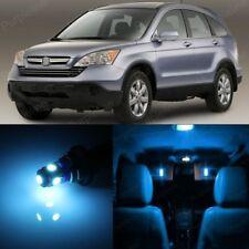 8 x Ice Blue LED Lights Interior Package For Honda CR-V CRV 2007 - 2012 + TOOL