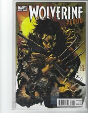 Wolverine #1000 Comic Book Marvel 2011 Classic Cover Low Print Run VF+ NICE COPY