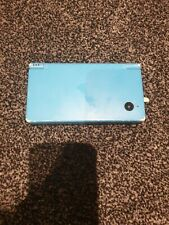 Light Blue Nintendo Dsi Handheld Console With 1 Game