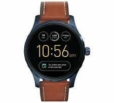 Fossil Q Marshal Brown Leather Strap Smart Watch