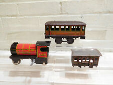 Vintage Chad Valley Hornby Meccano O Scale Tin Metal Trains