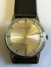 Vintage 1959 CITIZEN DELUXE Hand-Winding Men's watch [PARA SHOCK PHYNOX] 19J