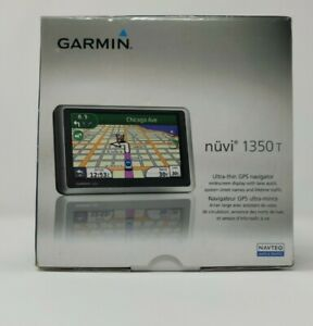 Garmin Nuvi 1350T GPS  In Original Box Tested Working