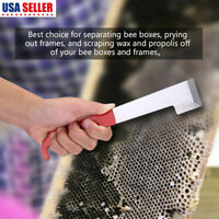 Stainless Steel Bee Hive Uncapping Honey Fork Scraper Shovel Beekeeping Tool GN