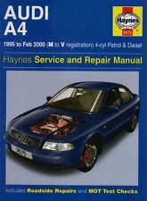 Audi A4 (4-cylinder) 1995-2000 Service and Repair Manual (Haynes Service and R,