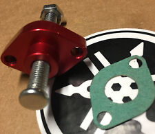 07-13 YAMAHA RAPTOR 250 -BILLET MANUAL CAM CHAIN TENSIONER anodized USA RED 10