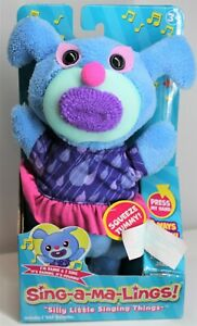"""FUNRISE SING-A-MA-LINGS! RAINE """"IT'S RAINING IT'S POURING"""" 2017 BLUE AGES 3+ NEW"""