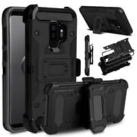 For Samsung S8/Ative Slim Case Belt Clip Holster Stand Shockproof Phone PC Cover