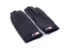 BMW Genuine M Driving Gloves Black Leather Mens Large
