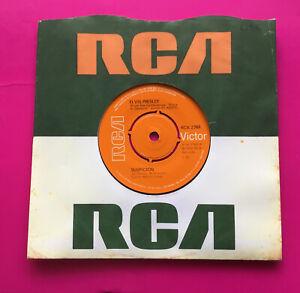 """E121, Suspicion, Elvis Presley, 7""""45rpm Single, Excellent Condition"""