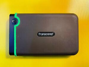 Transcend Storejet 1TB Grün gebraucht, einwandfrei!