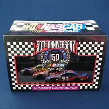 NASCAR 50th Anniversary Numbered Limited Edition Double Set Playing Cards in Tin