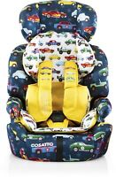 Cosatto ZOOMI GROUP 123 ANTI-ESCAPE CAR SEAT - REV UP Baby Travel BN