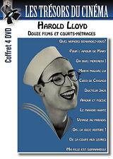 Coffret 4 DVD Harold lloyd : Douze films et courts-métrages