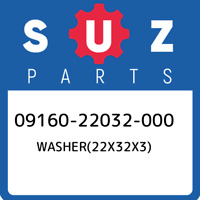 09160-22032-000 Suzuki Washer(22x32x3) 0916022032000, New Genuine OEM Part