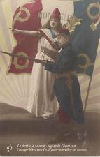 honneur ,carte patriotique 1914 1918