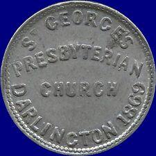 St.George PresbyterianChurch 1869 Rare Communion Token(25 mm Diameter 6.2 Grams)