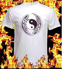 T-Shirt Shirt Custom Tattoo Tao with wings S M L XL XXL XXXL