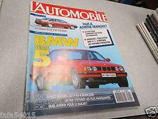 L AUTOMOBILE MAGAZINE N° 500 1988 LANCIA D 24-RENAULT ESPACE QUADRA-MVS VENTUR *
