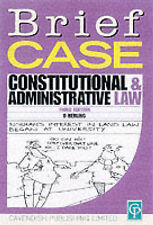 Briefcase on Constitutional & Administrative Law, By Herling, David,in Used but