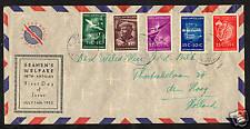 Ned. Antillen VOORLOPER FDC  V10_1 M, met adres ;