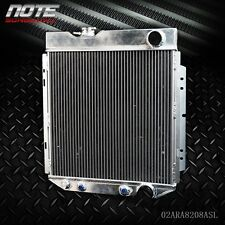 62mm Aluminum Race Cooling Radiator For 64-66 FORD MUSTANG V8 I6 MT/AT