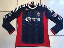 Rare NWT ADIDAS FORMOTION Chivas USA MLS 2010  Long Sleeve Jersey Men's 2XL