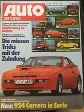 autozeitung 13/80: Lancia Delta, Renault Fuego, BMW 745i, Kawasaki Z750, Honda