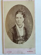Victorian Carte De Visite CDV Photo - Tunny - Edinburgh - Lady