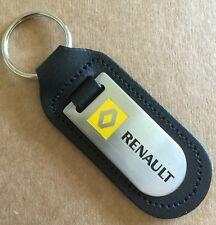 NEUF RENAULT porte clés, cuir véritable, Clio, SCENIC, TWINGO, MEGANE, CAPTUR