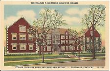 Charles Moorman Home for Women in Louisville KY Postcard