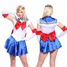 Sailor Moon Costume Cosplay Uniform Sailormoon Fancy Dress Outfit Book Week