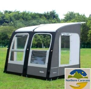New 2022 Camptech Starline 260 Inflatable Caravan Porch Awning Free Storm Straps